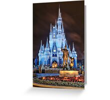 Cinderella Castle Dream Lights Greeting Card