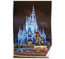 Cinderella Castle Dream Lights Poster