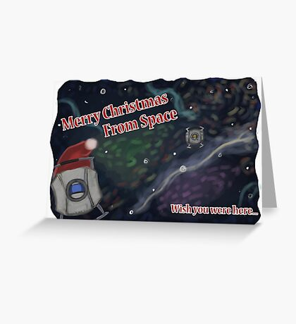 Merry SPACEmas... so much space  Greeting Card
