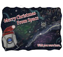 Merry SPACEmas... so much space  Photographic Print