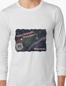 Merry SPACEmas... so much space  Long Sleeve T-Shirt