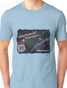 Merry SPACEmas... so much space  Unisex T-Shirt