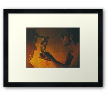 Myth Ology Framed Print