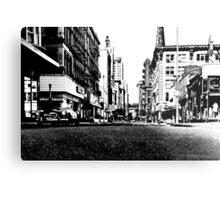 Downtown Providence 1972  Metal Print