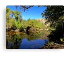 Lake Sabino Canvas Print
