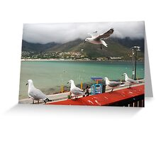 Incoming...Cape Town Central. Greeting Card