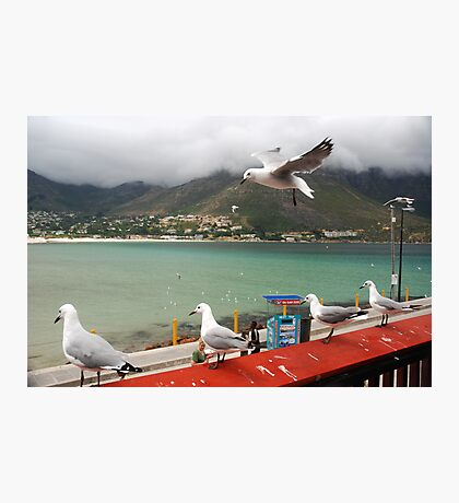 Incoming...Cape Town Central. Photographic Print