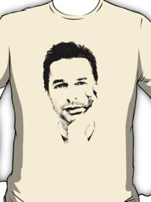 Depeche Mode : Dave Gahan - Black Pixel T-Shirt