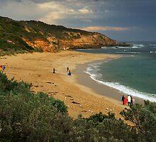 Sorrento Ocean Beach by Darren Stones