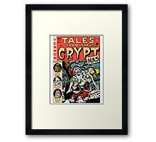 Merry Christmas / Tales From the Cryptmas Framed Print