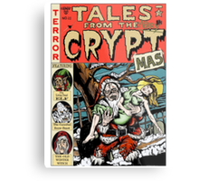 Merry Christmas / Tales From the Cryptmas Metal Print