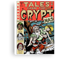 Merry Christmas / Tales From the Cryptmas Canvas Print