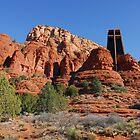 Chapel of the Holy Cross, Sedona Arizona by Janet Houlihan