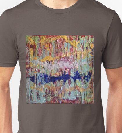 Entropy: Original Abstract Painting Unisex T-Shirt