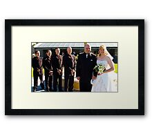 Adrian and Zoe Terrace 3 Framed Print