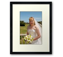 Adrian and Zoe Terrace 7 Framed Print
