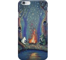 Moomin's night iPhone Case/Skin