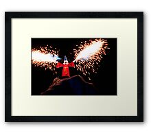 Sorcerer Mickey Fantasmic Framed Print
