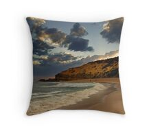 Sorrento Ocean Beach Throw Pillow