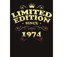Limited edition since 1974 Photographic Print