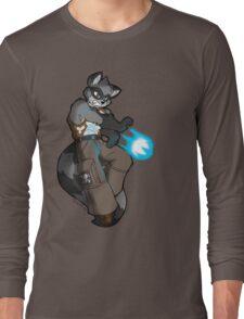 Racoon warrior Long Sleeve T-Shirt