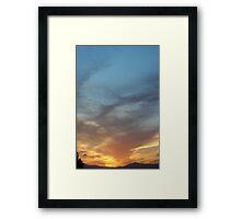 Leading Up Framed Print