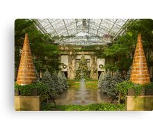 Gingerbread Trees  Canvas Print