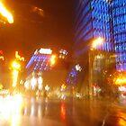 VIENNA CITY LIGHTS Nr.821 - UNIQA-Building by Wolfgang Pawlik