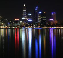 Perth Lights (full size) by Nigel Donald