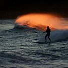 Golden Wave by Annette Blattman