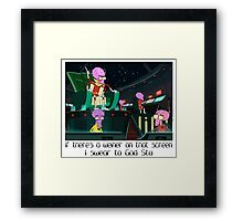 Rick & Morty Framed Print