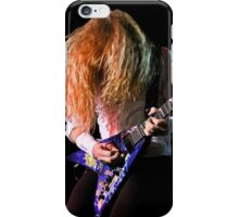 Dave Mustaine of Megadeth iPhone Case/Skin