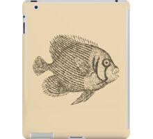 Retro fish iPad Case/Skin