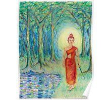 Zen Thai Girl Poster