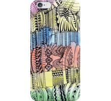 Magic stairs - doodle in black iPhone Case/Skin