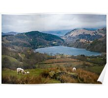 Welsh Countryside Poster