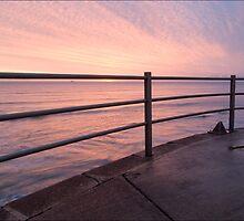 sunrise rail by Paul Tremble