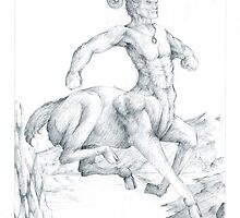 Chiron the Centaur by Curtiss Shaffer