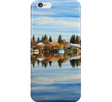 At Home In The Clouds iPhone Case/Skin