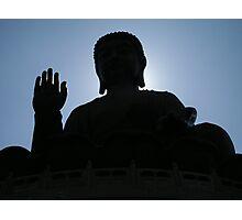 Buddha says hello Photographic Print