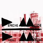 Depeche Mode : Delta Machine Paint cover by Luc Lambert