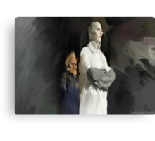 Yewll and Bertie Canvas Print