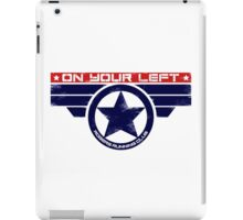 """On Your Left"" Hybrid iPad Case/Skin"