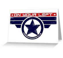 """On Your Left"" Hybrid Greeting Card"