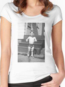 Poor Jonny Women's Fitted Scoop T-Shirt