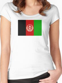 Afghanistan - Standard Women's Fitted Scoop T-Shirt