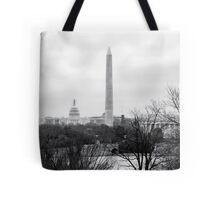 Washington DC Skyline Tote Bag