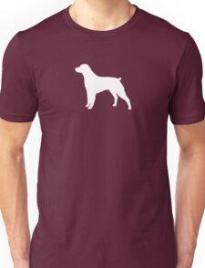 Brittany Spaniel Silhouette(s) Unisex T-Shirt
