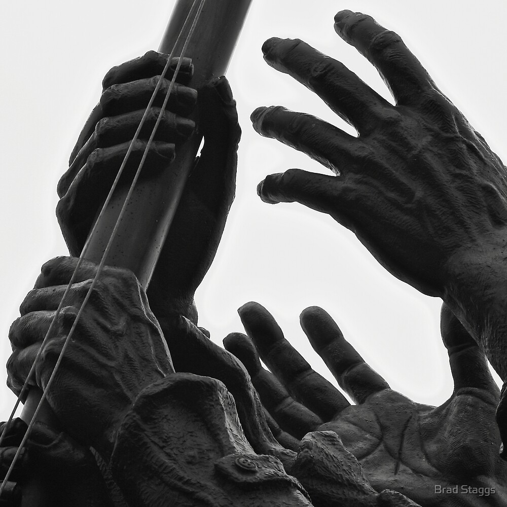 Hands of Iwo Jima by Brad Staggs
