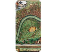 London Map 1600s iPhone Case/Skin
